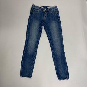 Anthropologie Pilcro Light Wash Stet Denim Jeans